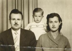 annem babam ve ben